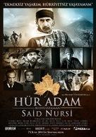 Hür Adam: Bediüzzaman Said Nursi - Turkish Movie Poster (xs thumbnail)