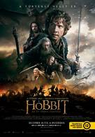 The Hobbit: The Battle of the Five Armies - Hungarian Movie Poster (xs thumbnail)