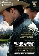 Brokeback Mountain - German Movie Poster (xs thumbnail)
