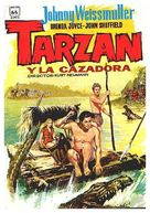 Tarzan and the Huntress - Spanish Movie Poster (xs thumbnail)