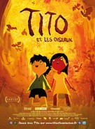 Tito e os Pássaros - French Movie Poster (xs thumbnail)