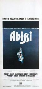 The Deep - Italian Movie Poster (xs thumbnail)