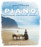 The Piano - Czech Blu-Ray cover (xs thumbnail)
