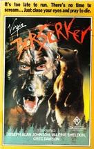 Berserker - Australian VHS cover (xs thumbnail)