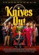 Knives Out - Swedish Movie Poster (xs thumbnail)