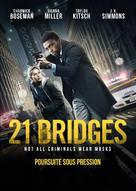 21 Bridges - Canadian DVD movie cover (xs thumbnail)