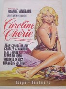 Caroline chérie - French Movie Poster (xs thumbnail)
