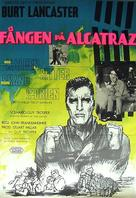 Birdman of Alcatraz - Swedish Movie Poster (xs thumbnail)
