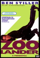 Zoolander - Hungarian DVD movie cover (xs thumbnail)