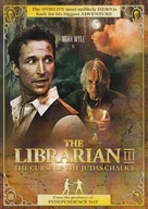 The Librarian: The Curse of the Judas Chalice - Danish Movie Cover (xs thumbnail)