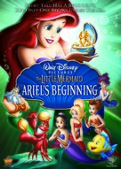 The Little Mermaid: Ariel's Beginning - DVD cover (xs thumbnail)