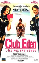 Exit to Eden - French VHS cover (xs thumbnail)