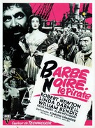Blackbeard, the Pirate - French Movie Poster (xs thumbnail)