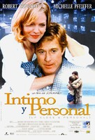 Up Close & Personal - Spanish Movie Poster (xs thumbnail)