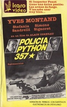 Police Python 357 - Argentinian VHS cover (xs thumbnail)
