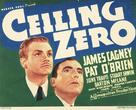 Ceiling Zero - British Movie Poster (xs thumbnail)