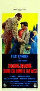 Daniel Boone: Frontier Trail Rider - Italian Movie Poster (xs thumbnail)