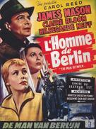 The Man Between - Belgian Movie Poster (xs thumbnail)