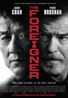 The Foreigner - Dutch Movie Poster (xs thumbnail)