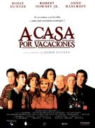 Home for the Holidays - Spanish Movie Poster (xs thumbnail)