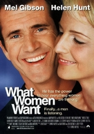 What Women Want - Movie Poster (xs thumbnail)
