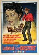 Destry - Italian Movie Poster (xs thumbnail)