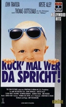 Look Who's Talking - German VHS cover (xs thumbnail)
