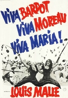 Viva María! - German Movie Poster (xs thumbnail)