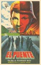 Die Brücke - Spanish Movie Poster (xs thumbnail)