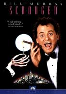 Scrooged - DVD cover (xs thumbnail)