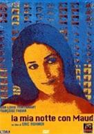 Ma nuit chez Maud - Italian DVD cover (xs thumbnail)