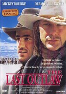 The Last Outlaw - German Movie Cover (xs thumbnail)