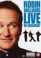 Robin Williams: Live on Broadway - British DVD cover (xs thumbnail)