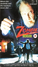 Zombie High - British VHS cover (xs thumbnail)