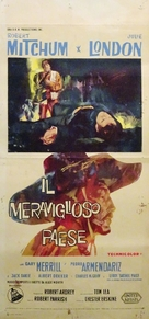 The Wonderful Country - Italian Movie Poster (xs thumbnail)