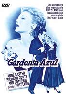 The Blue Gardenia - Spanish DVD cover (xs thumbnail)
