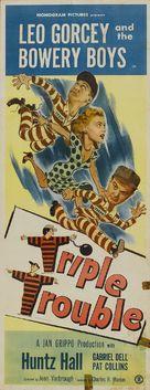 Triple Trouble - Movie Poster (xs thumbnail)
