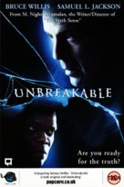 Unbreakable - British VHS cover (xs thumbnail)