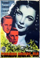 Sundown - Spanish Movie Poster (xs thumbnail)