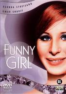 Funny Girl - Dutch DVD cover (xs thumbnail)
