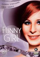 Funny Girl - Dutch DVD movie cover (xs thumbnail)