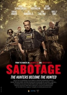 Sabotage - Dutch Movie Poster (xs thumbnail)
