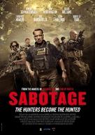 Sabotage - Dutch Movie Poster (xs thumbnail)