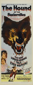 The Hound of the Baskervilles - Movie Poster (xs thumbnail)