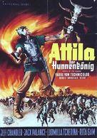 Sign of the Pagan - German Movie Poster (xs thumbnail)