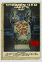 The Return of the Living Dead - Australian Movie Poster (xs thumbnail)