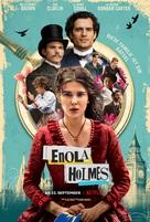 Enola Holmes - German Movie Poster (xs thumbnail)