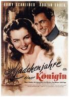 Mädchenjahre einer Königin - German Movie Poster (xs thumbnail)