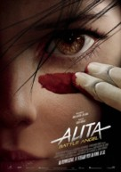 Alita: Battle Angel - German Movie Poster (xs thumbnail)