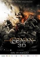 Conan the Barbarian - Romanian Movie Poster (xs thumbnail)